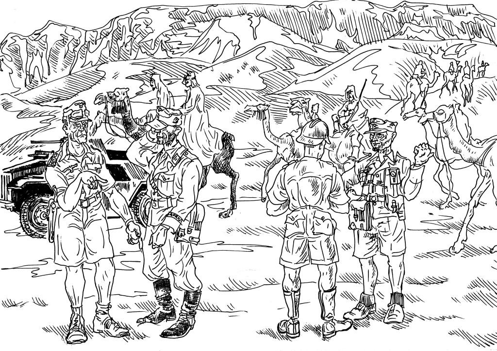 Африканский корпус Э.Роммеля (прозвище «Лис пустыни»). 1941-1943 гг.