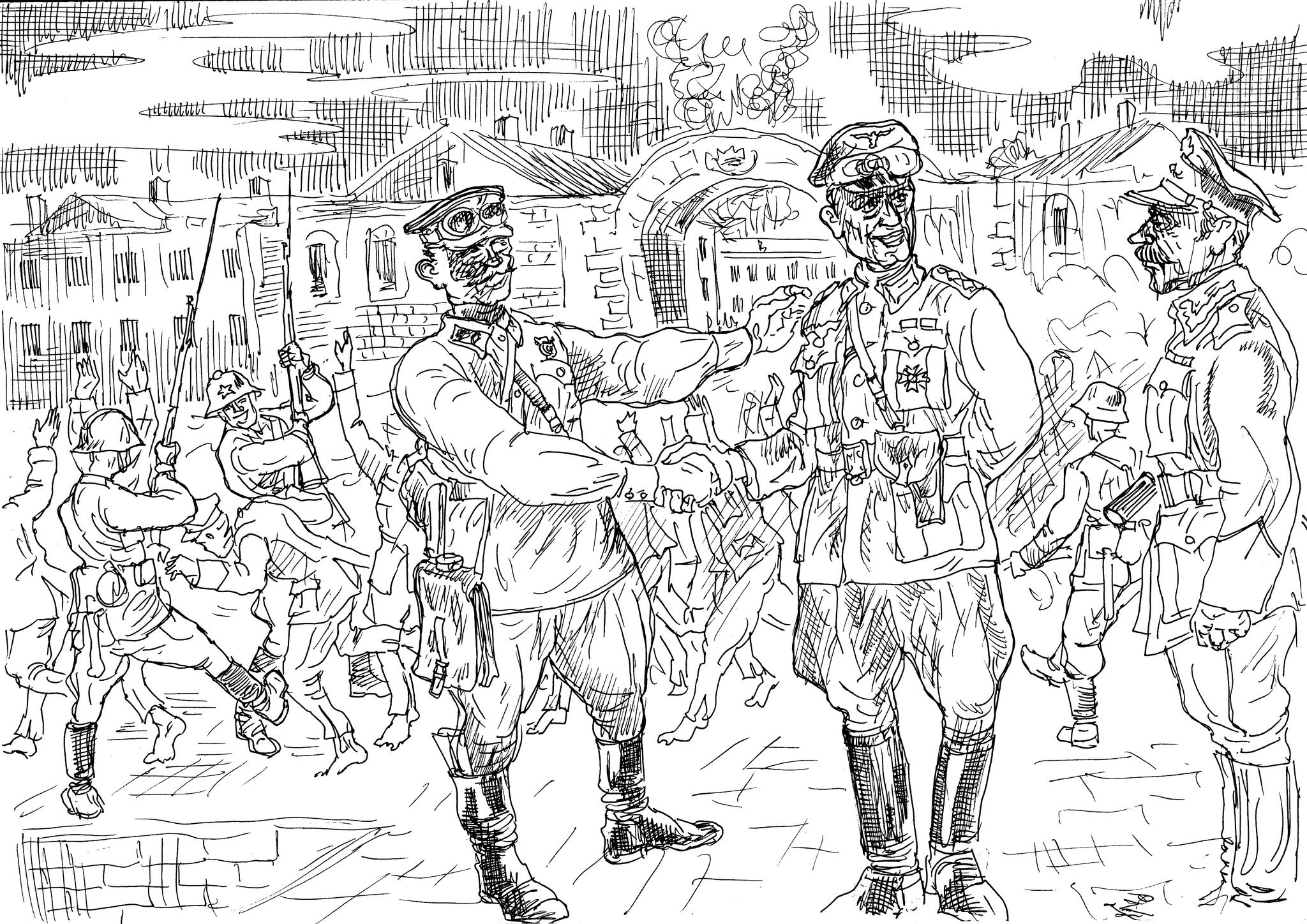 Брестскую крепость немцы брали дважды в 1939 и 1941 годах. В начале Второй Мировой и в начале Великой Отечественной