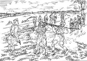 Казнь польских пленных сотрудниками НКВД