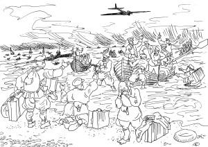 При обороне Севастополя командиры высшего  и старшего   и начсостава покинули строй, или, по-просту, бежали