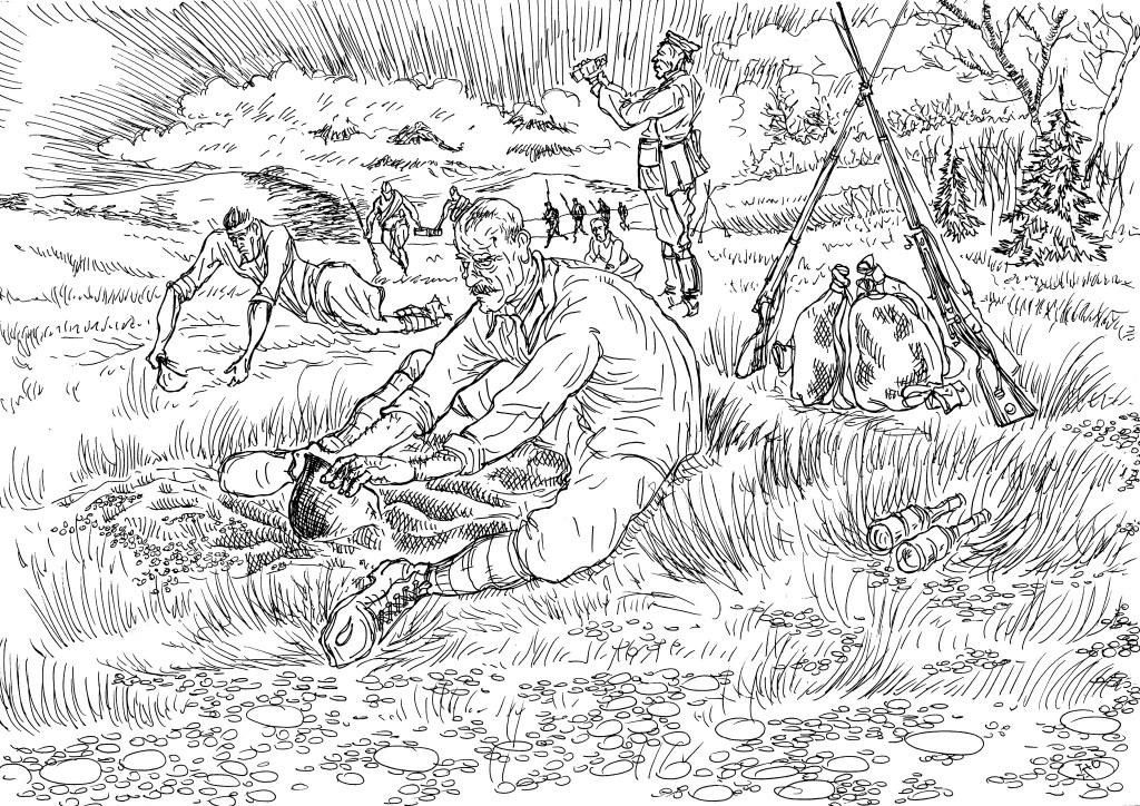 Вторая мировая война. Каска вместо лопаты