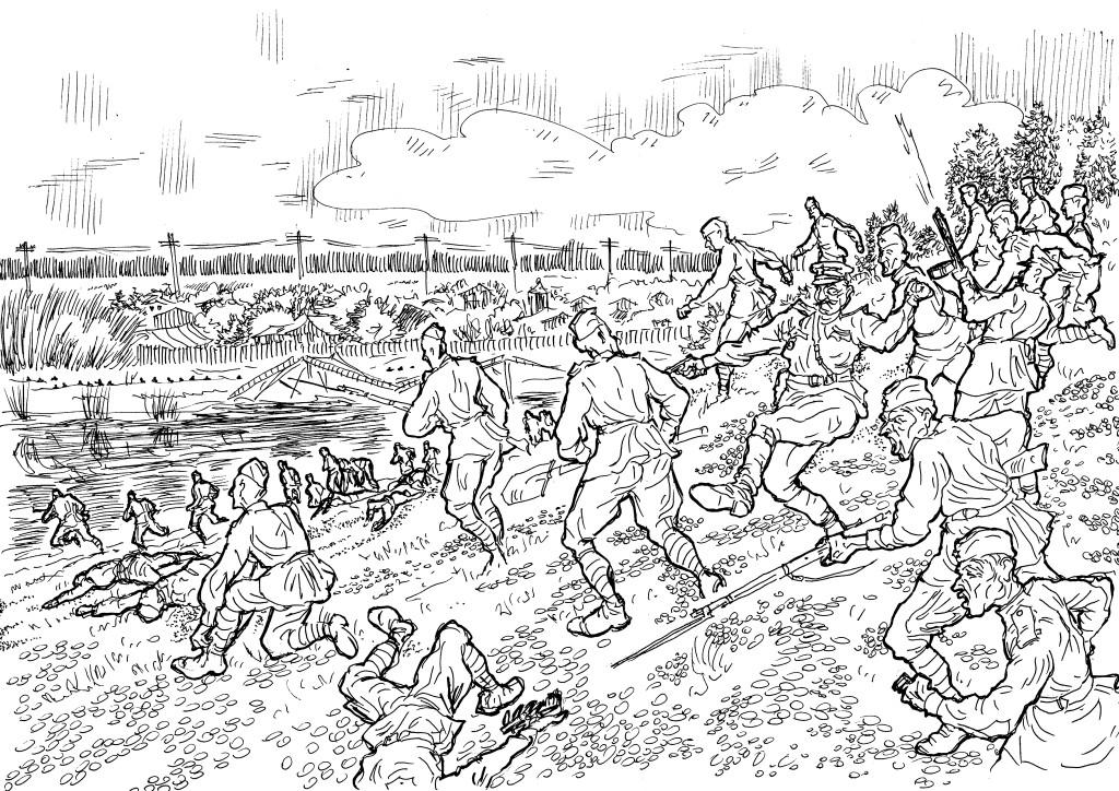 Лёгкая служба у пехоты — иди в атаку за Родину-мать, только и делов