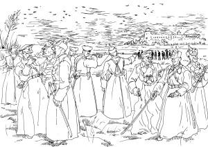 Красные курсанты расстреливают матросов-крондштадтцев (2000 человек за 3 дня)