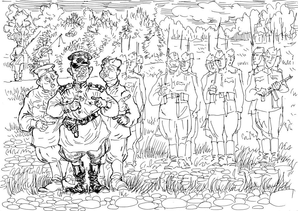 Красноармейцы выходили из окружения и тащили за собой тех, кто не прочь был бы и сдаться