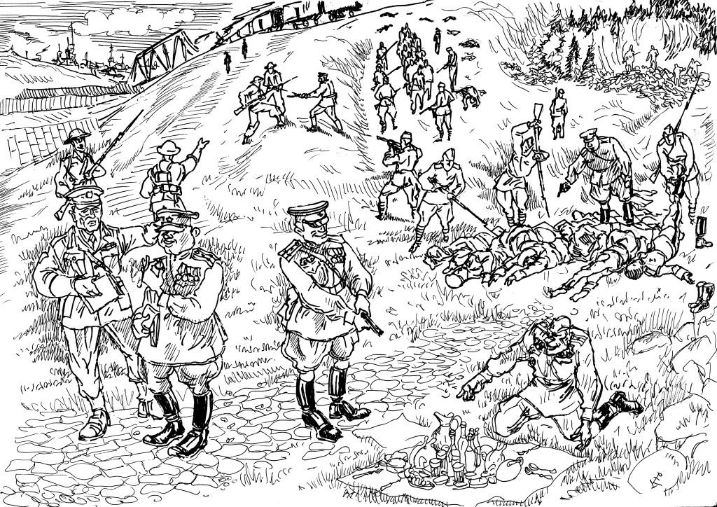 Англичане передали казаков на расправу советской стороне