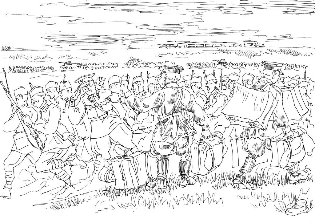 Бойцы попадали в окружение и приобретали клеймо «Был в окружении»
