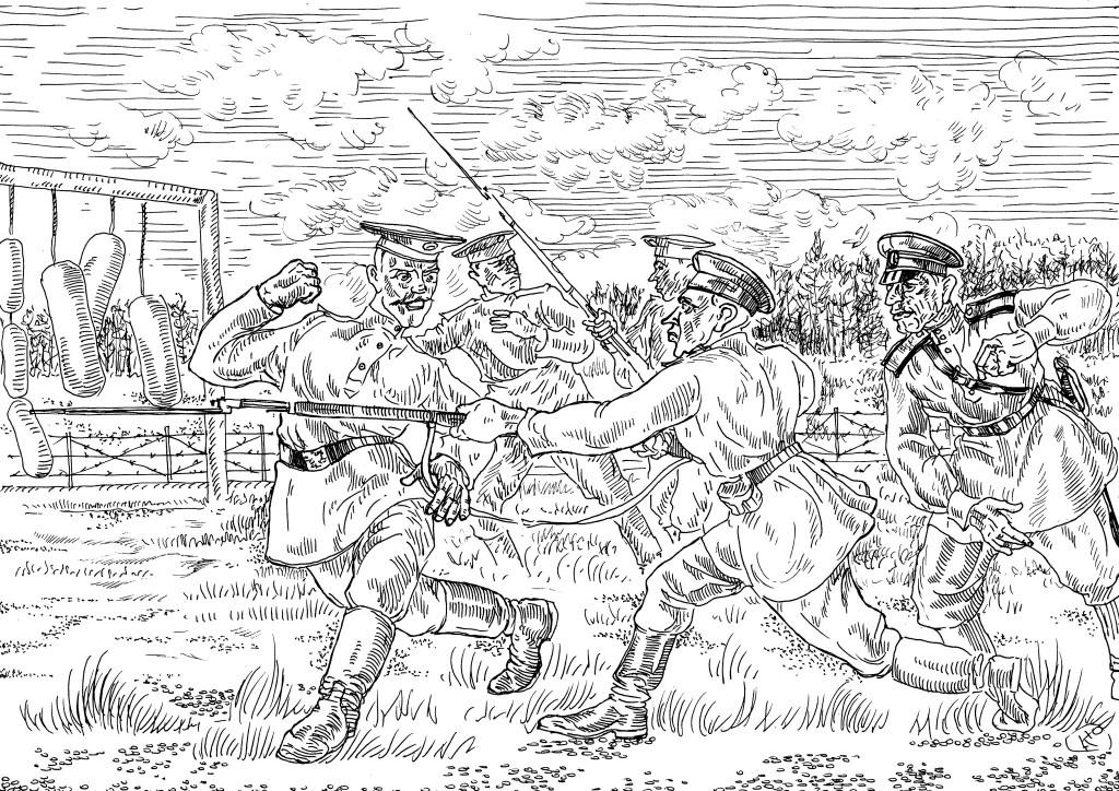 Шансов остаться в живых в штыковом бою с русскими не было
