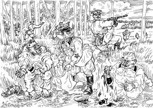 Военачальники РККА в начале войны при угрозе попадания в окружение переодевались в форму красноармейцев