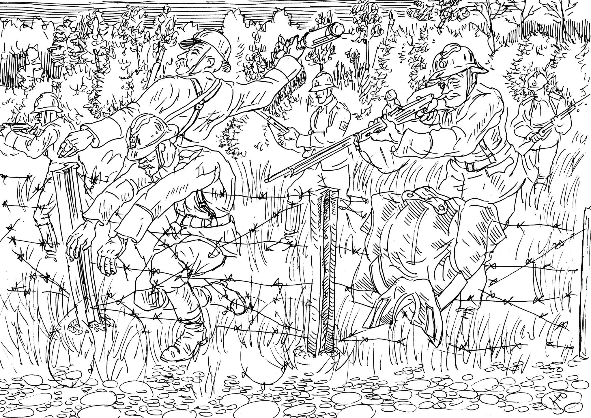 Во Францию были направлены две бригады русских стрелков