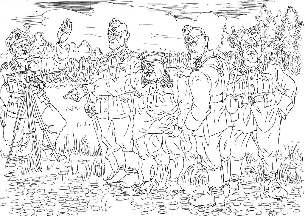 Полковник РККА «щедро делится» имеющейся информацией с немецким унтер-офицером