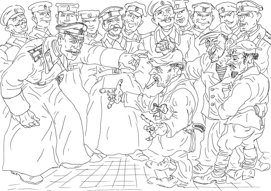 Большевики прибыли в полк арестовать монархистов