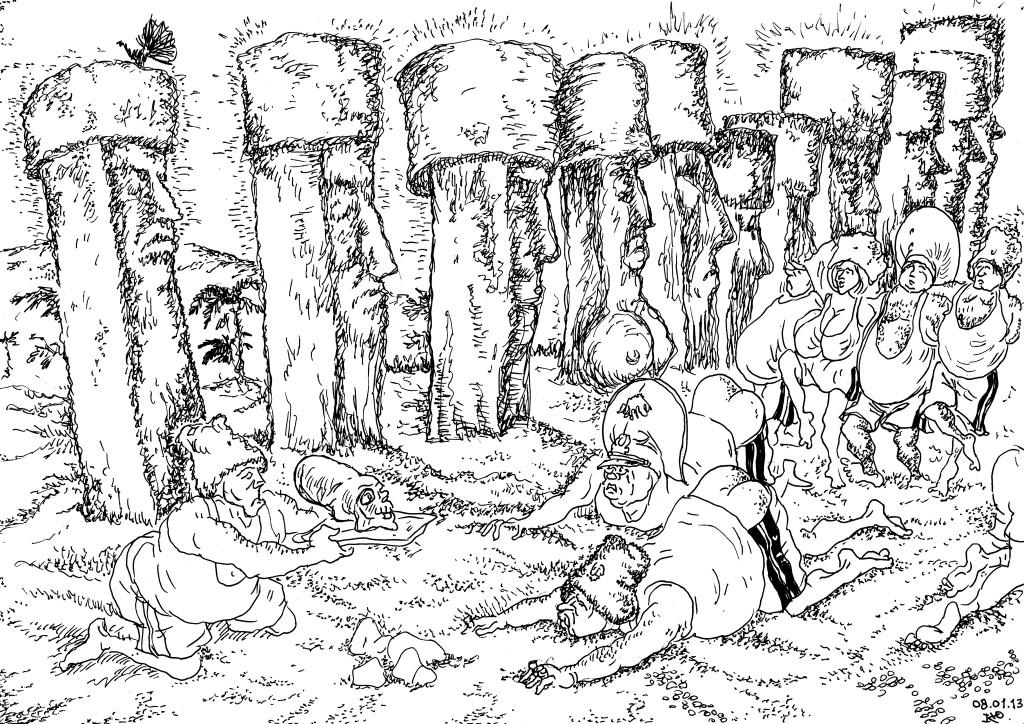 Чинуши — особая каста, избранные человекообразные существа