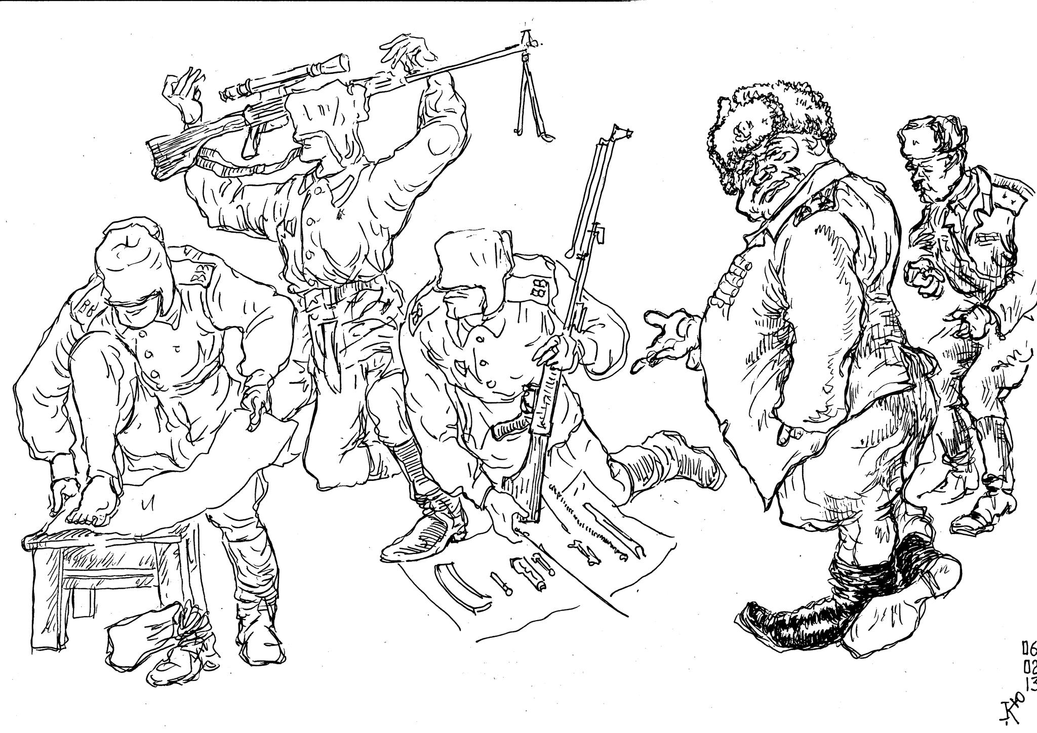 Прапорщик — «дед» солдат. Наказывают невиновных, награждают непричастных