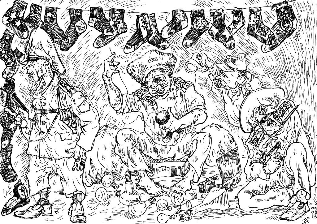 Грозные шаги военреформы МО в носках. ООН на службе армии