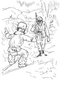 Обязанность солдата на войне — сделать так, чтобы враг умер за свою Родину!