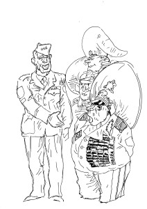 Не может солдат съесть два мешка брюквы!