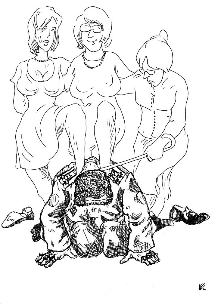 Три звезды: жена, теща и дочь