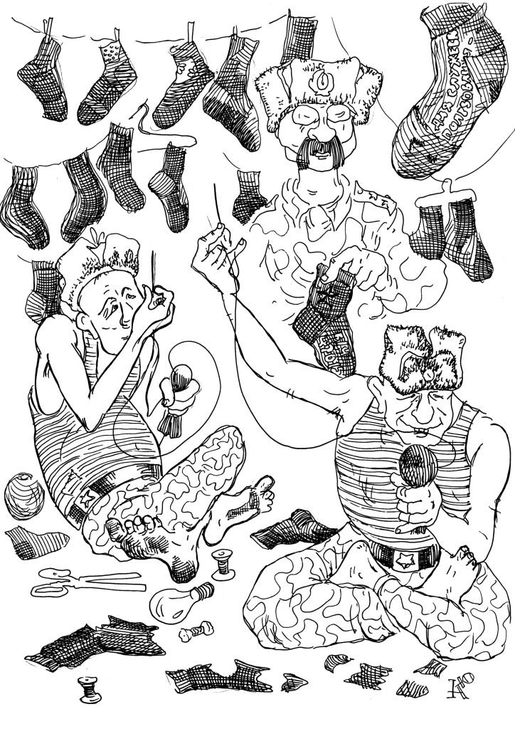Перестанут подшивать воротнички, начнут штопать носки