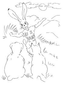 Волк, медведь и заяц получили повестки из военкомата