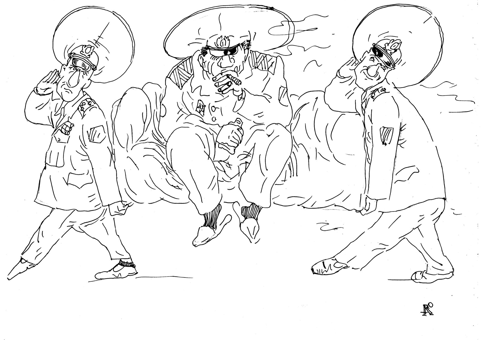 Есть два толковых полковника?