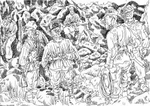 На горных тропах войны встречались альпинисты-скалолазы, еще вчера штурмовавшие эти вершины в одной связке