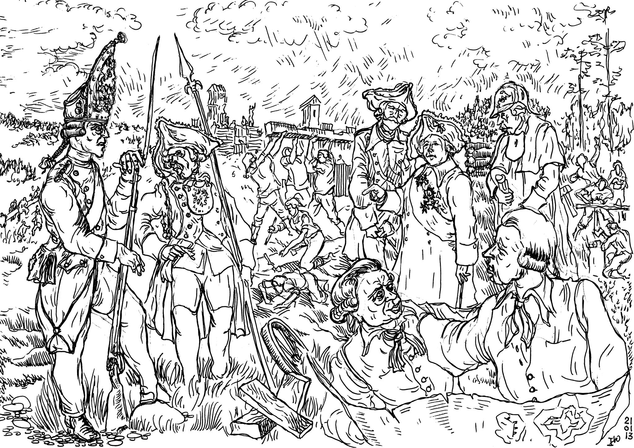 Павел-I требовал соблюдения дисциплины в армии