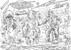 Вояки планируют закупать надувную воентехнику