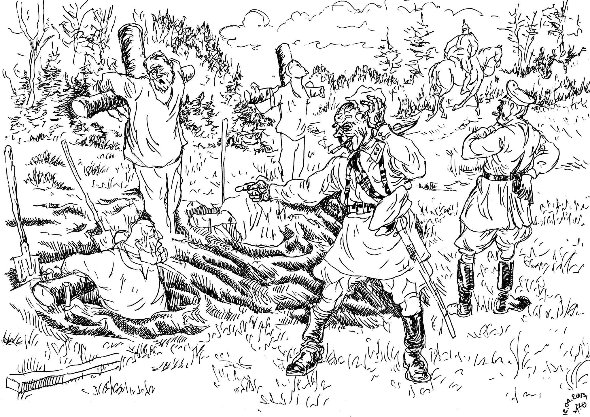 Палачи-парамоновцы убивали людей с любовью к «заплечных дел мастерству»: они изощрённо издевались над жертвами