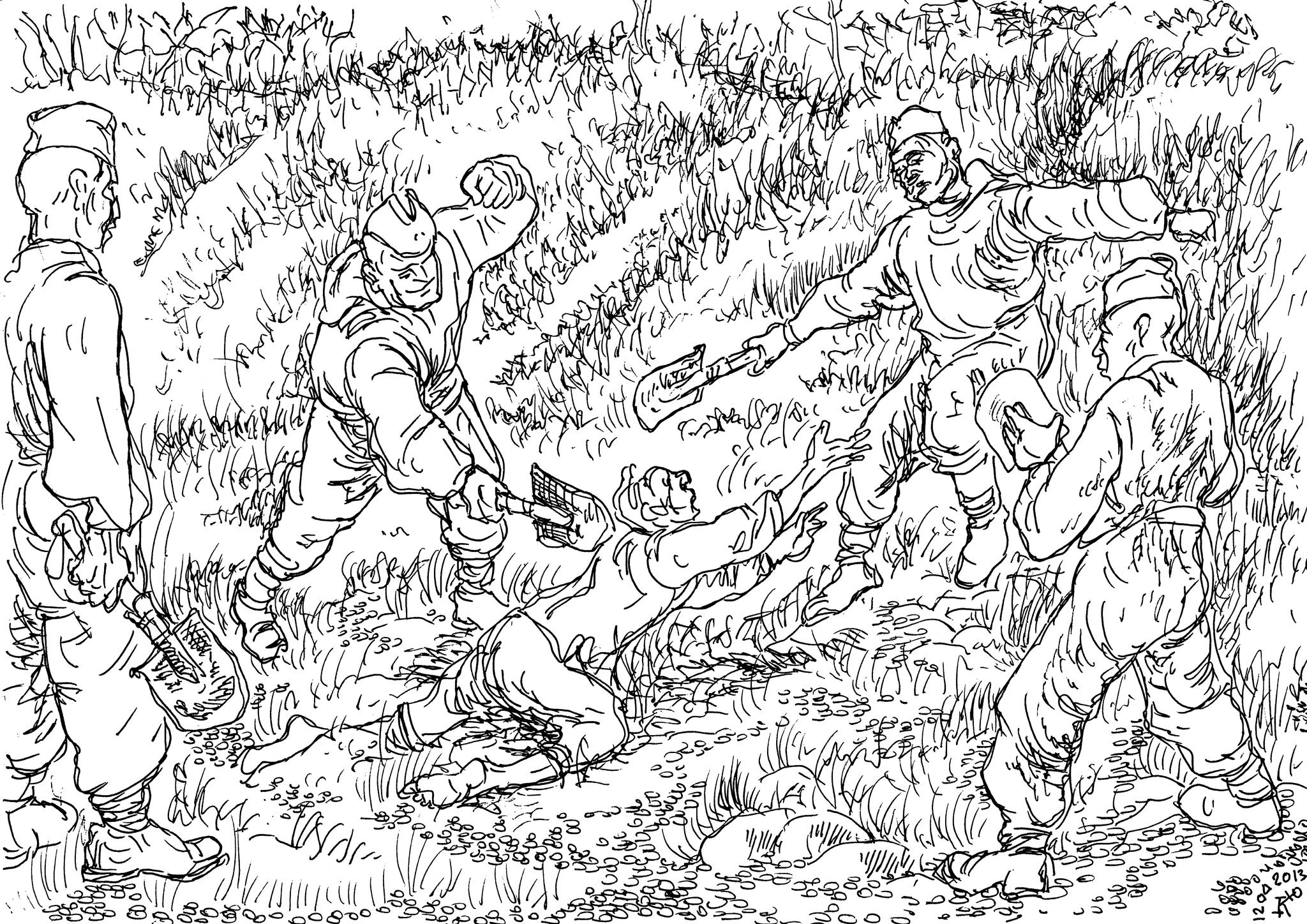В военное время «парамоновых» уничтожают, зная что они будут стучать всегда