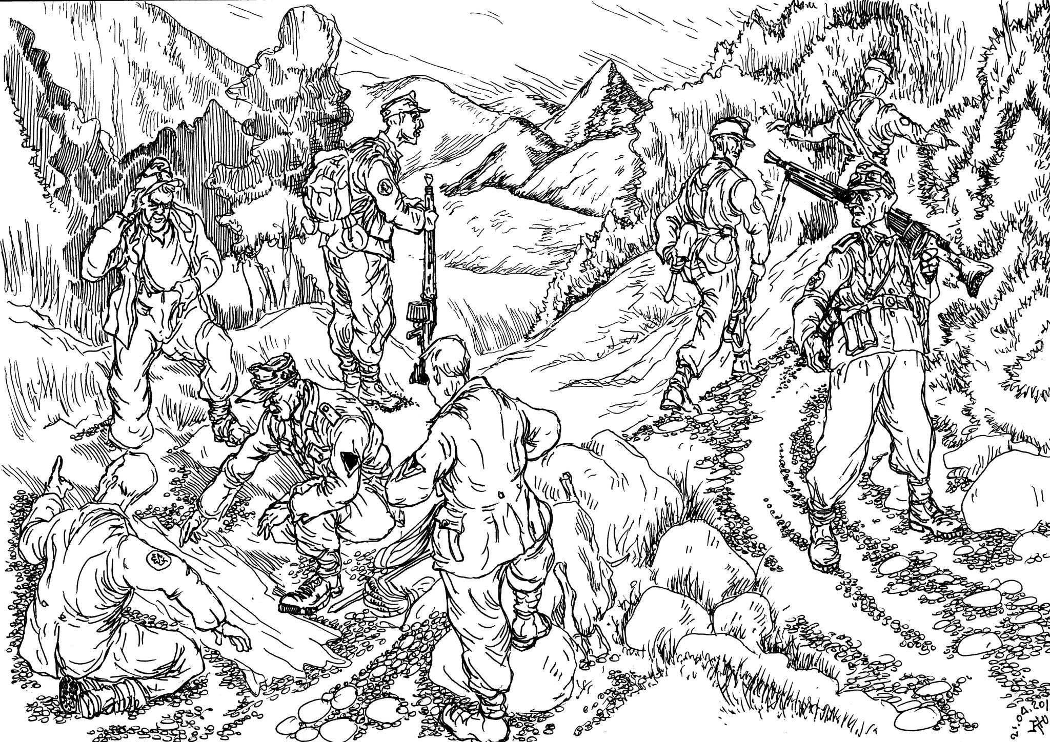 Горные сапёрные батальоны в составе горных дивизий т.н.»горные пионеры»