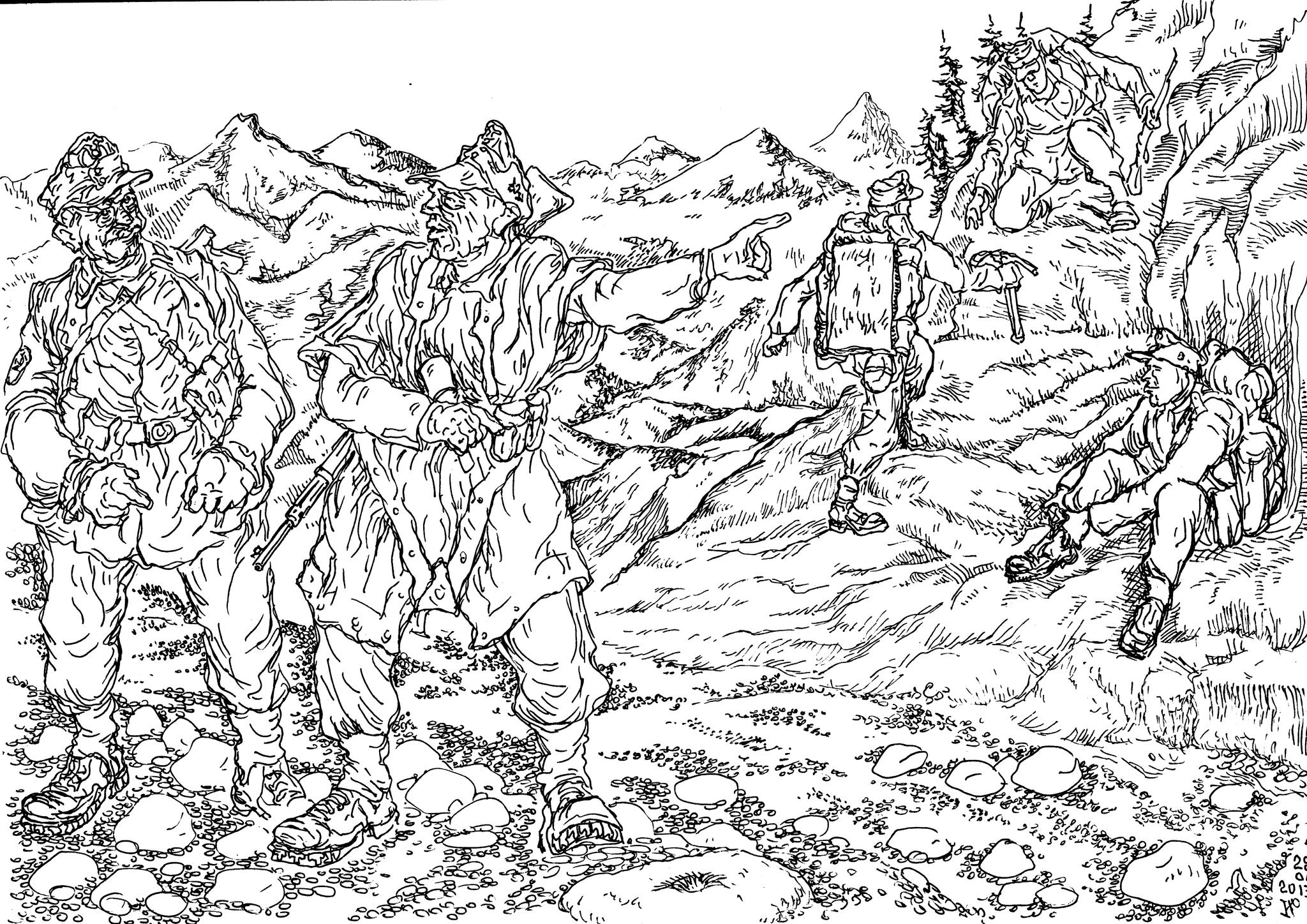 Участие горных стрелков в программе «Аненербе» («Наследие предков»)