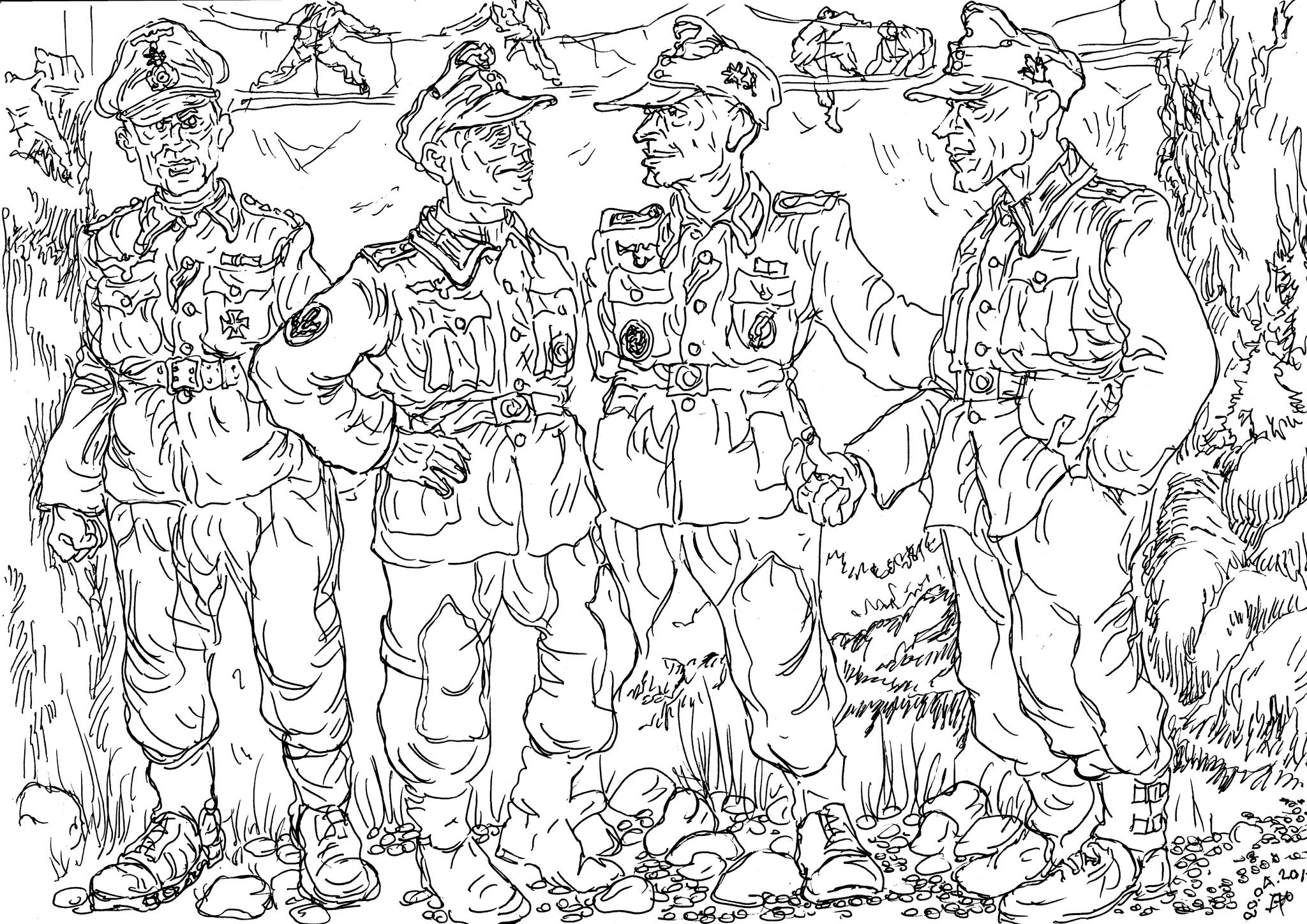 Горнострелковые части (Gebirgstruppe) по праву могут быть отнесены к элите германской армии