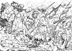 Армия имела в 1850-1860 годах численность, превышающую миллион человек