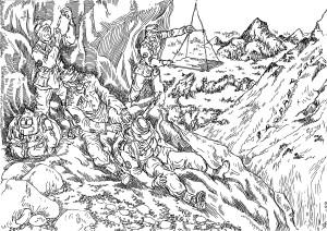 Травмированный воин горнострелковой части эвакуировался в кратчайшие сроки