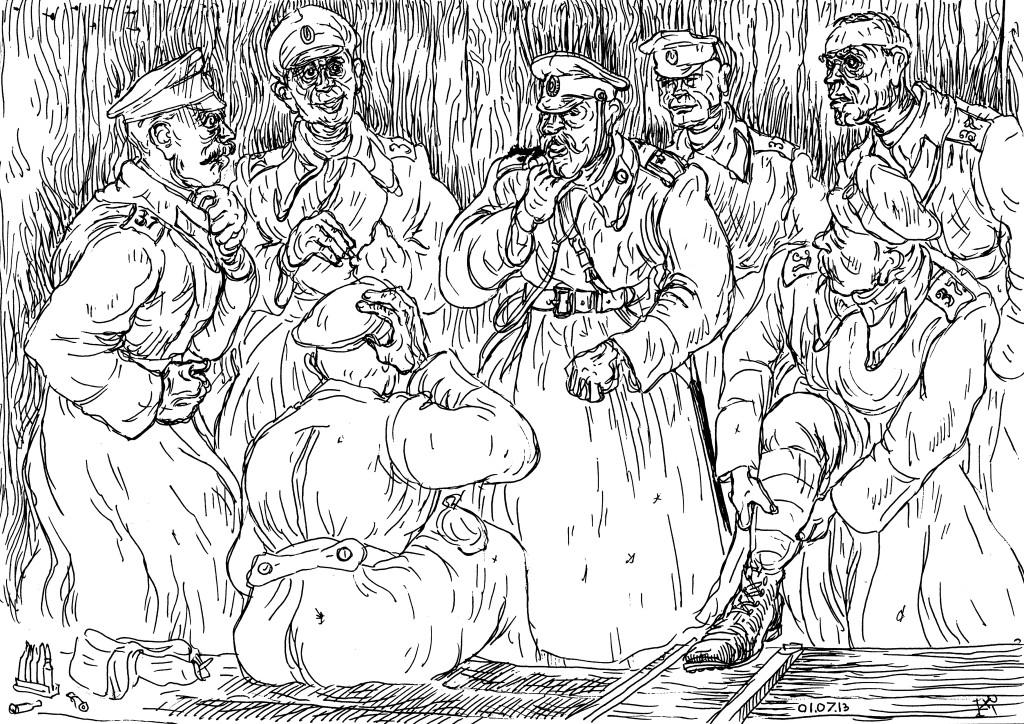 Рядовые 37-го Екатеринбургского пехотного полка