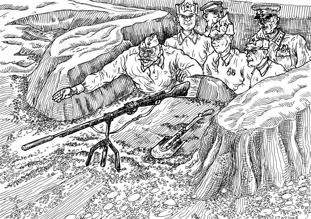 «Рождение» гранатомёта Дьяконова
