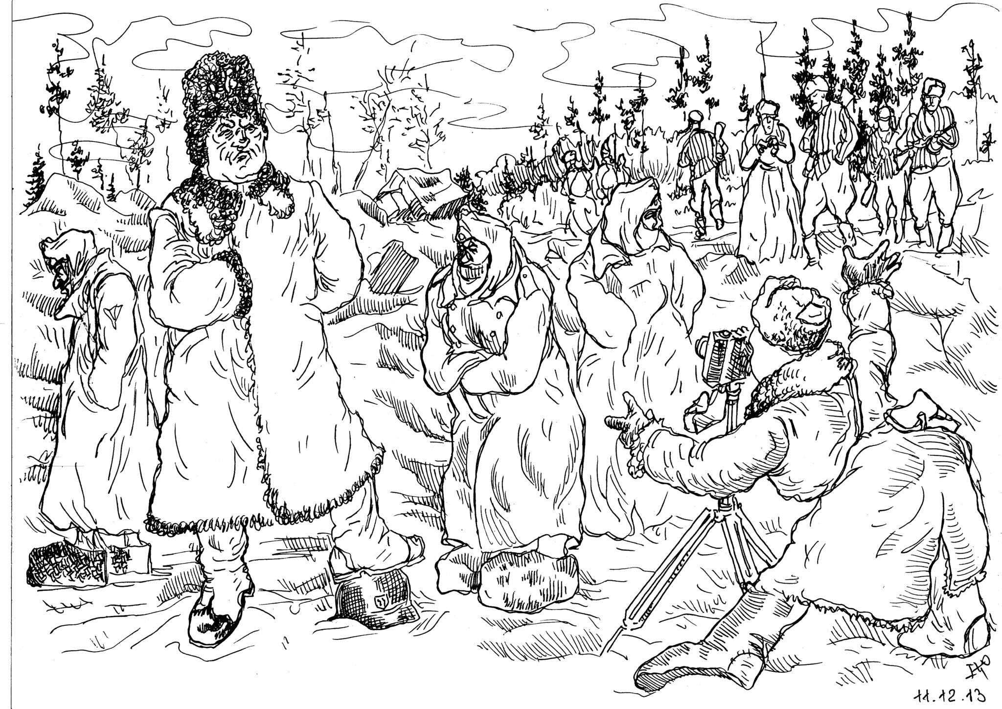 Из жизни генерала Мороза