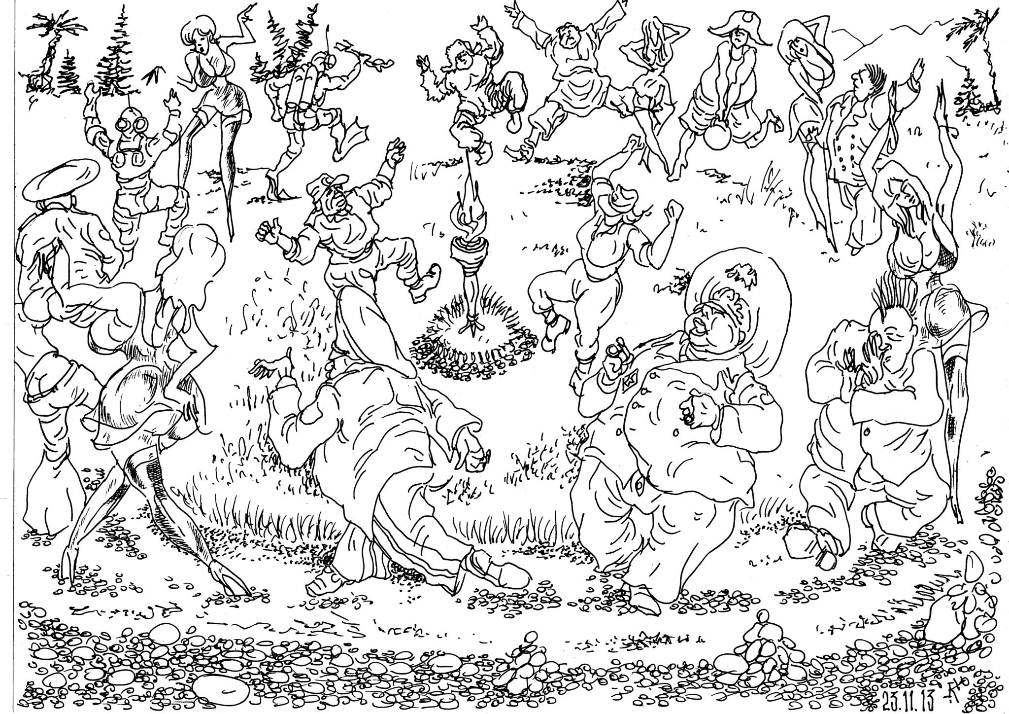 Огнепоклонники ХХI века