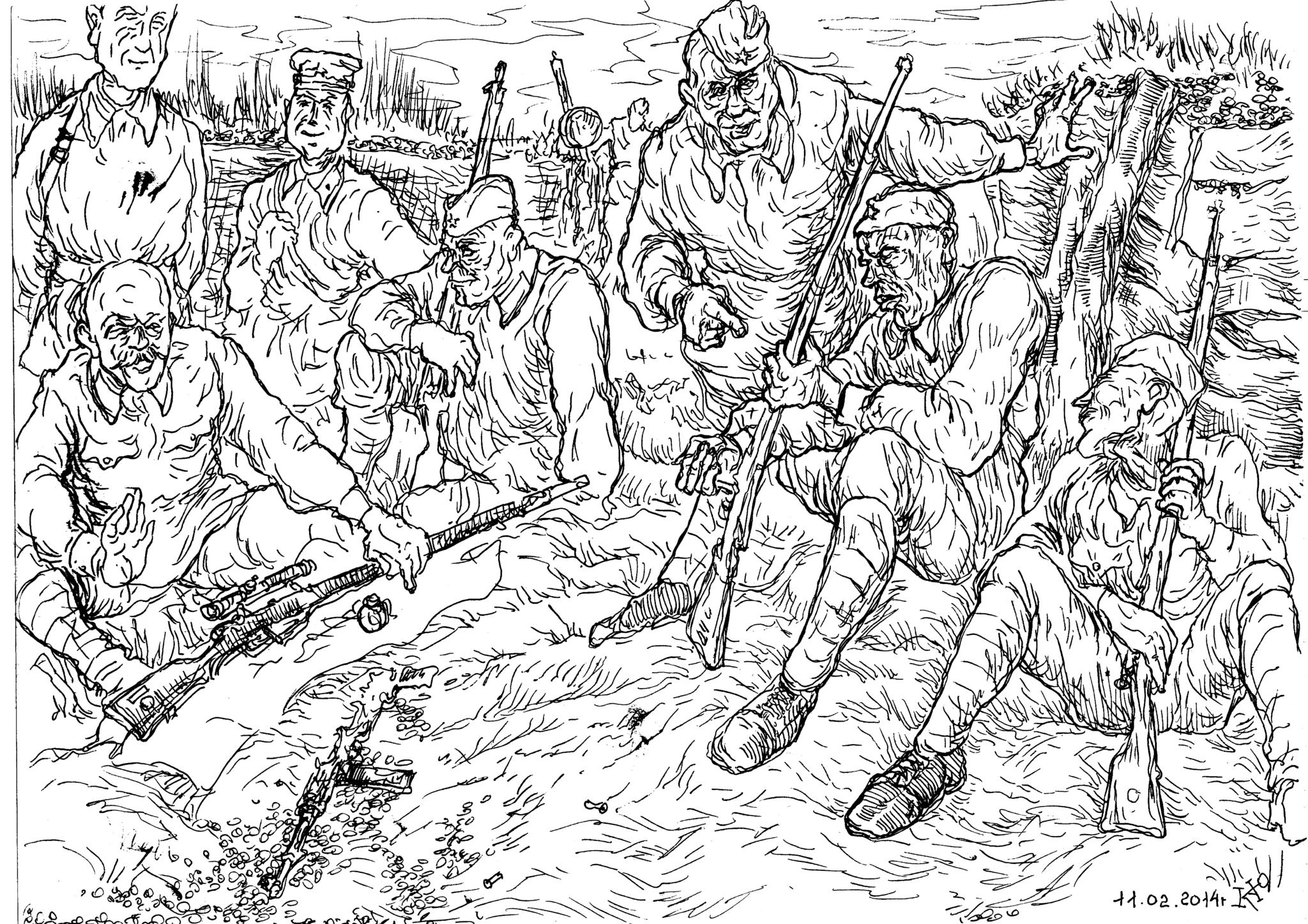 Чему учили солдат в Русской Императорской армии