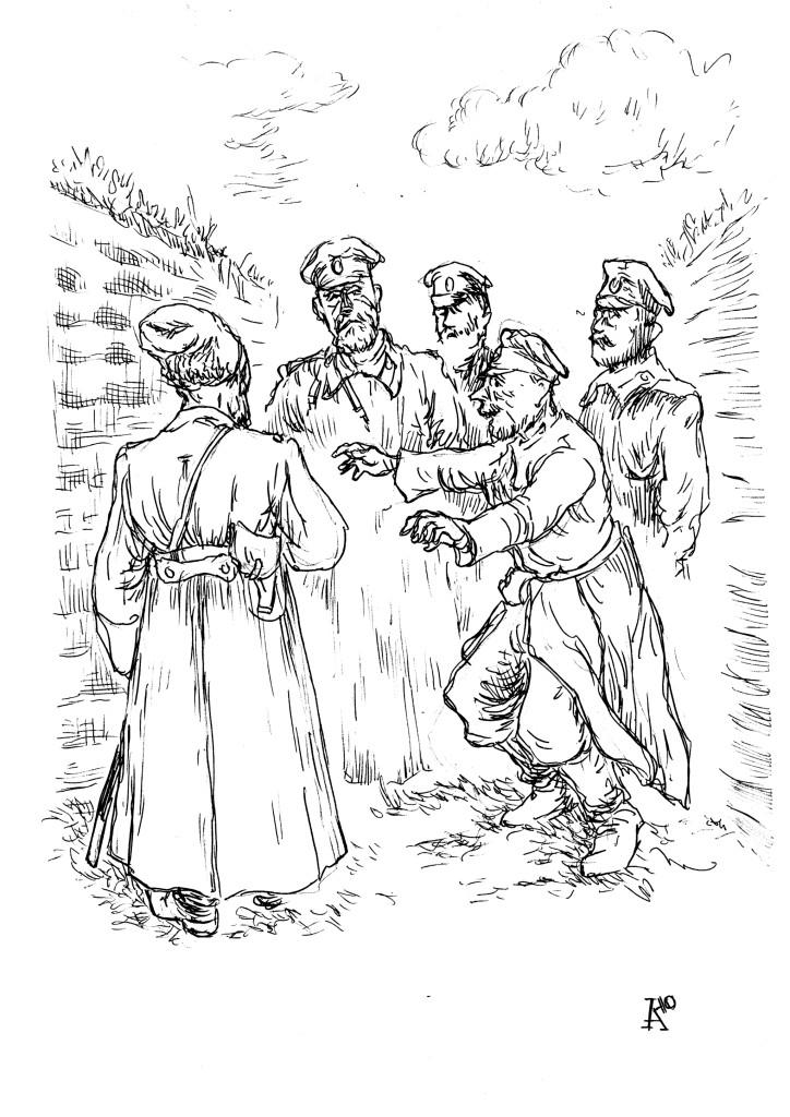 Мой адъютант, генерал от инфантерии Иванов просит руки вашей дочери!