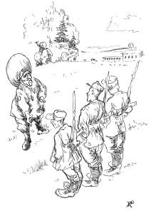 Берите пример с Рабиновича – плохой солдат, а старается!