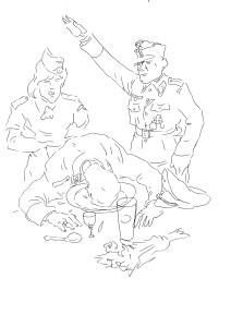 Так Штирлиц отмечает День Красной Армии