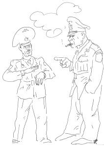 Вы что-нибудь имеете против пехоты?!