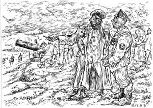Солдаты и офицеры Оровайского полка в Обороне Порт-Артура