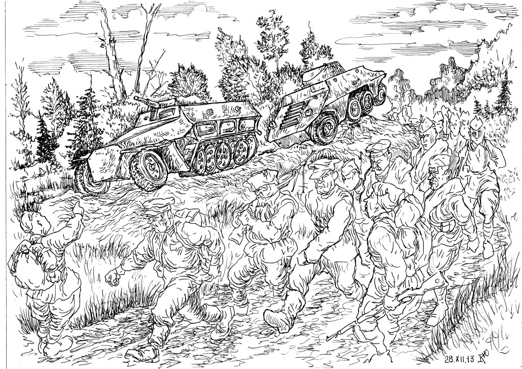 В РККА автомобилями был обеспечен только высший командный состав