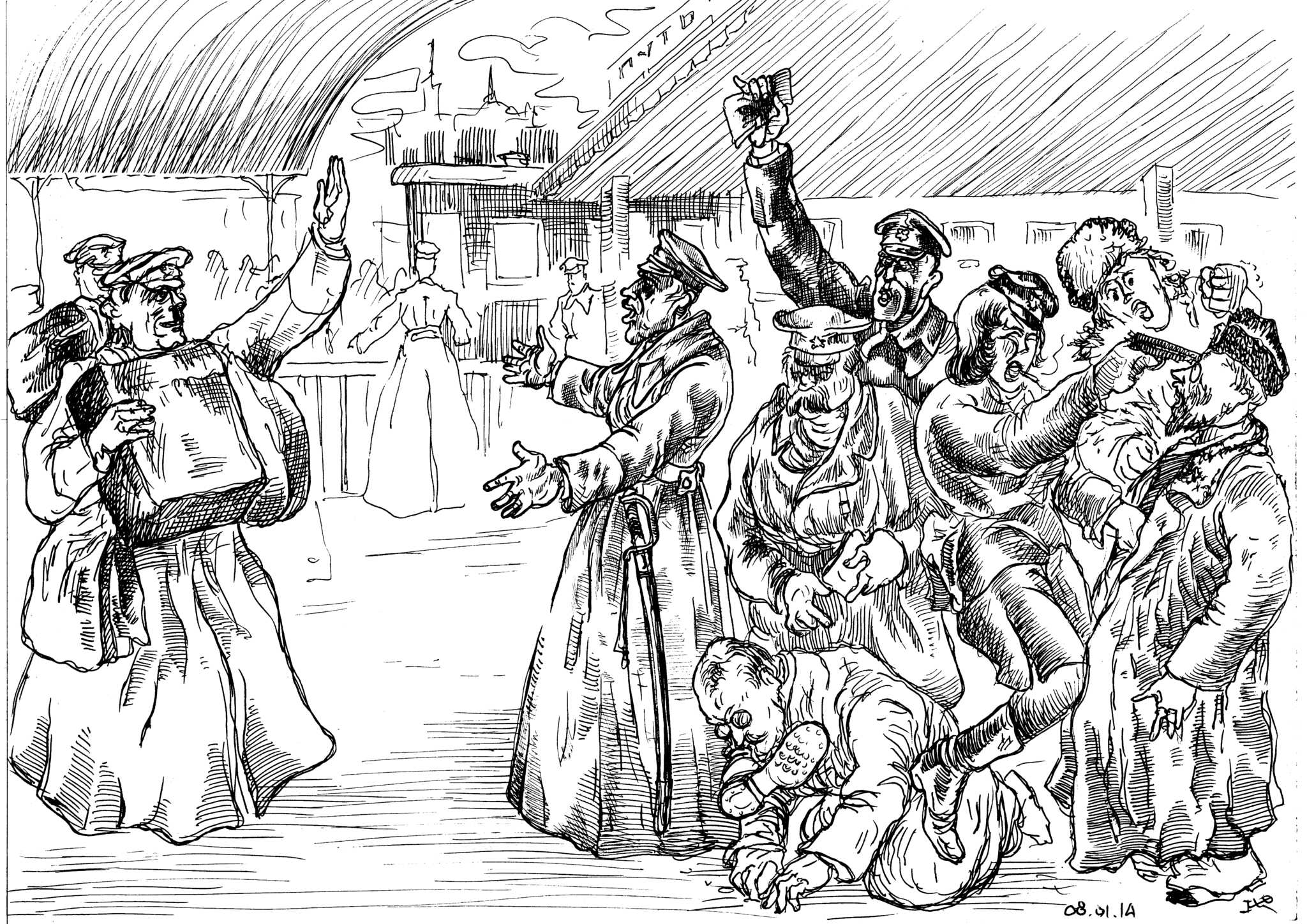 Чекисты, с удовольствием убивавшие русских людей, были как мужского, так и женского пола