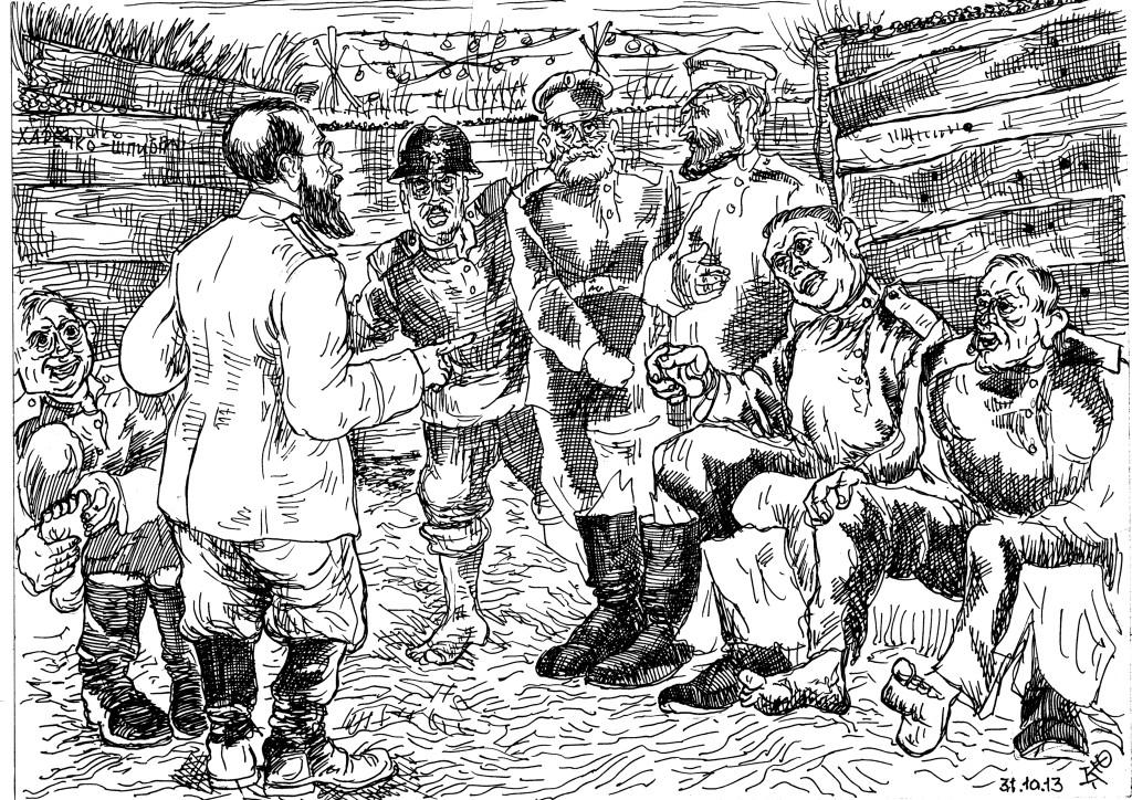 Траншейная стопа — болезнь окопной жизни Первой Мировой войны