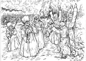Прибытие Сибирских стрелковых полков на фронты Первой Мировой