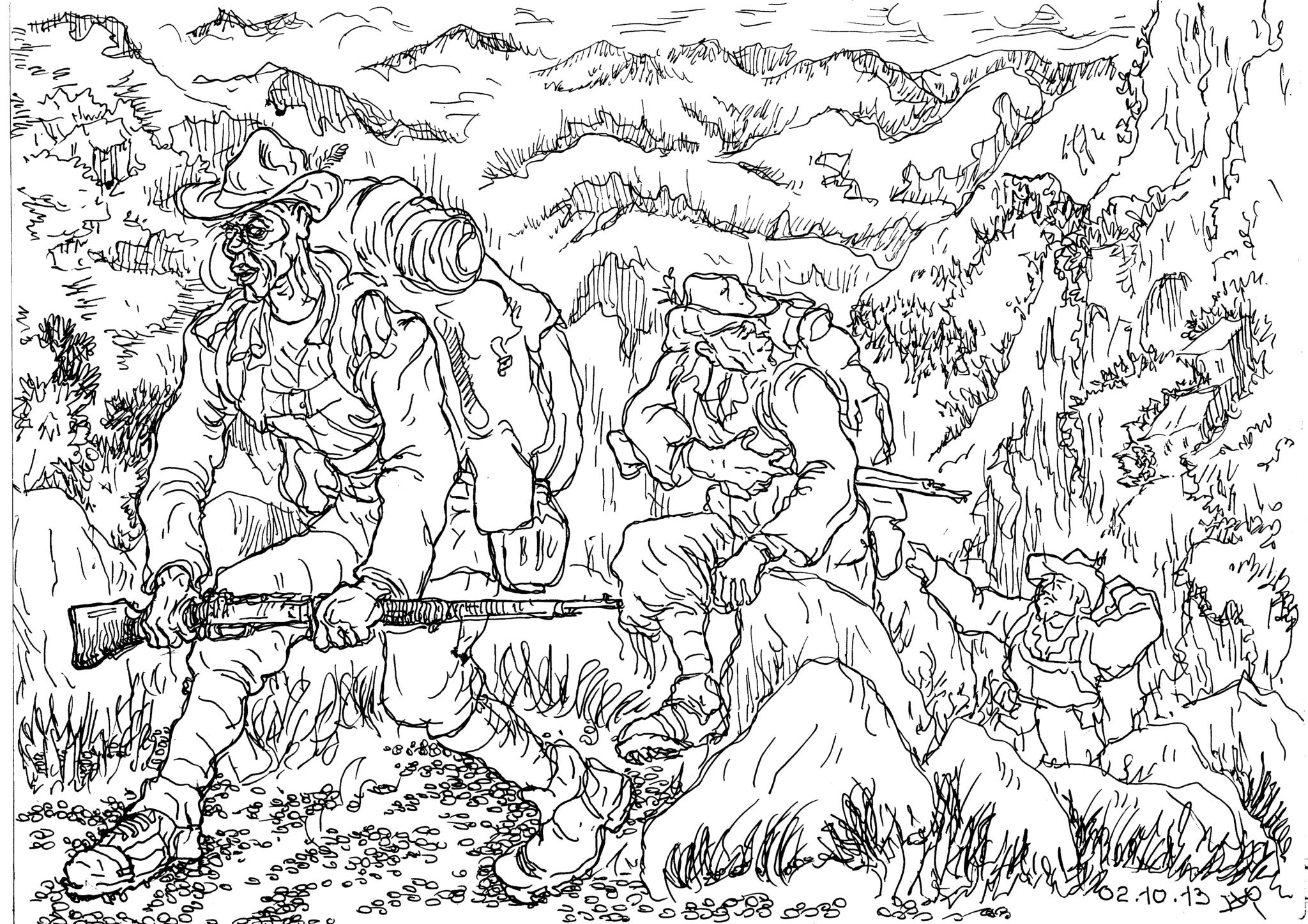 Горные стрелки Италии — «хозяева» Калабрийских Апеннин