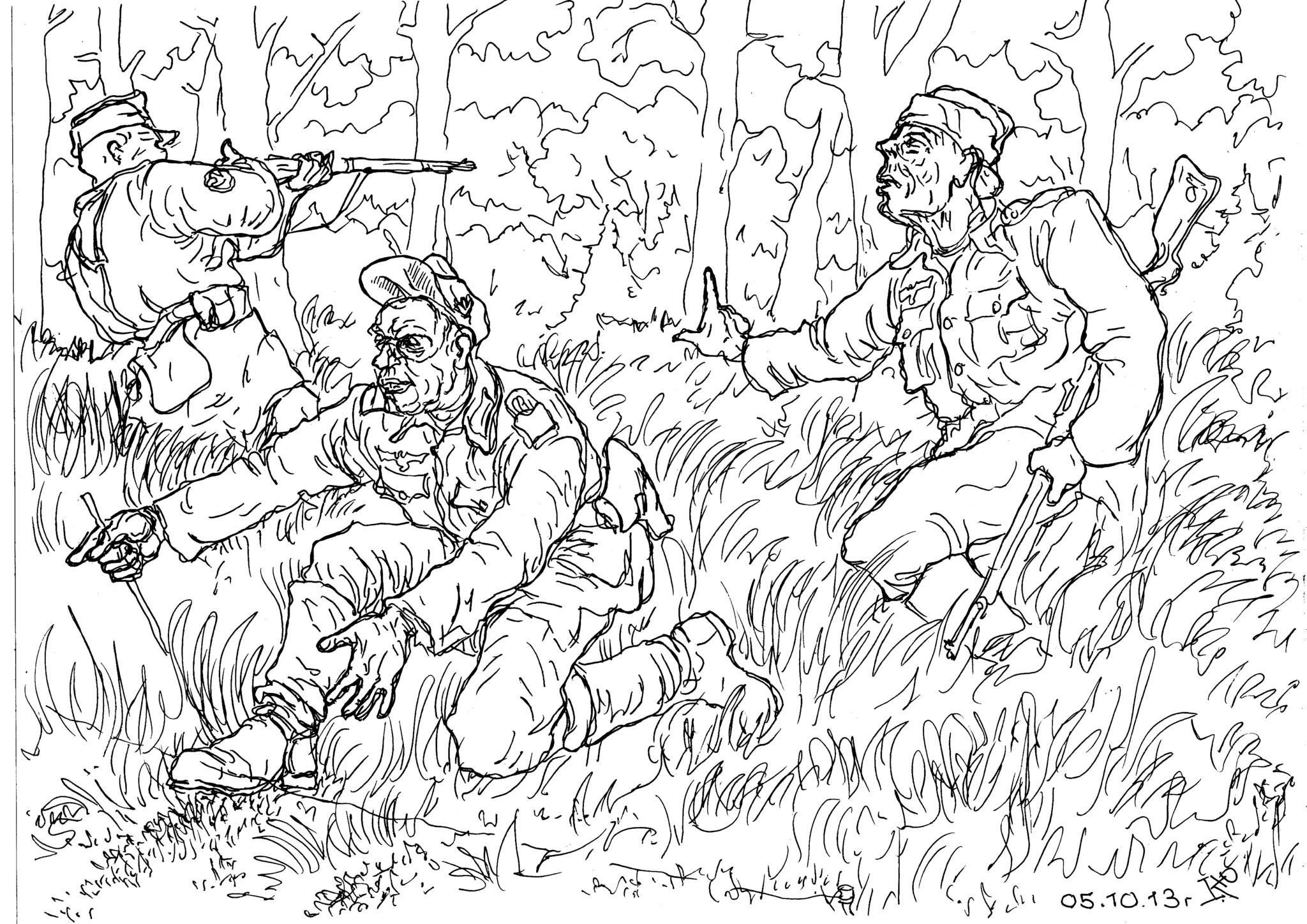 Егеря Вермахта — достойные противники бойцов ВВ НКВД